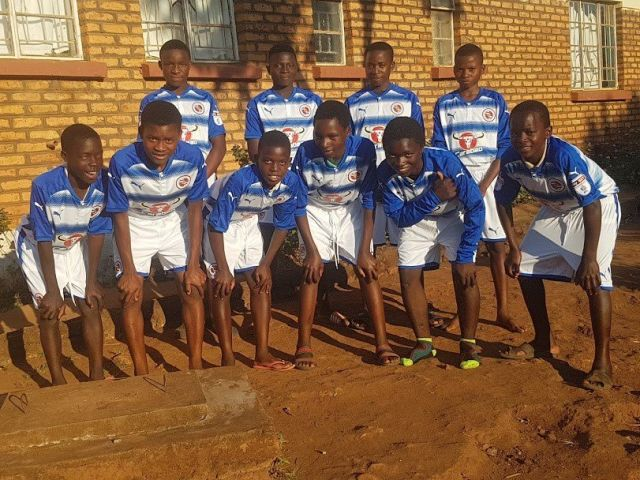 Reading FC kit orphanage