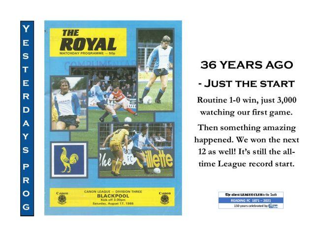 17 August Blackpool 1985
